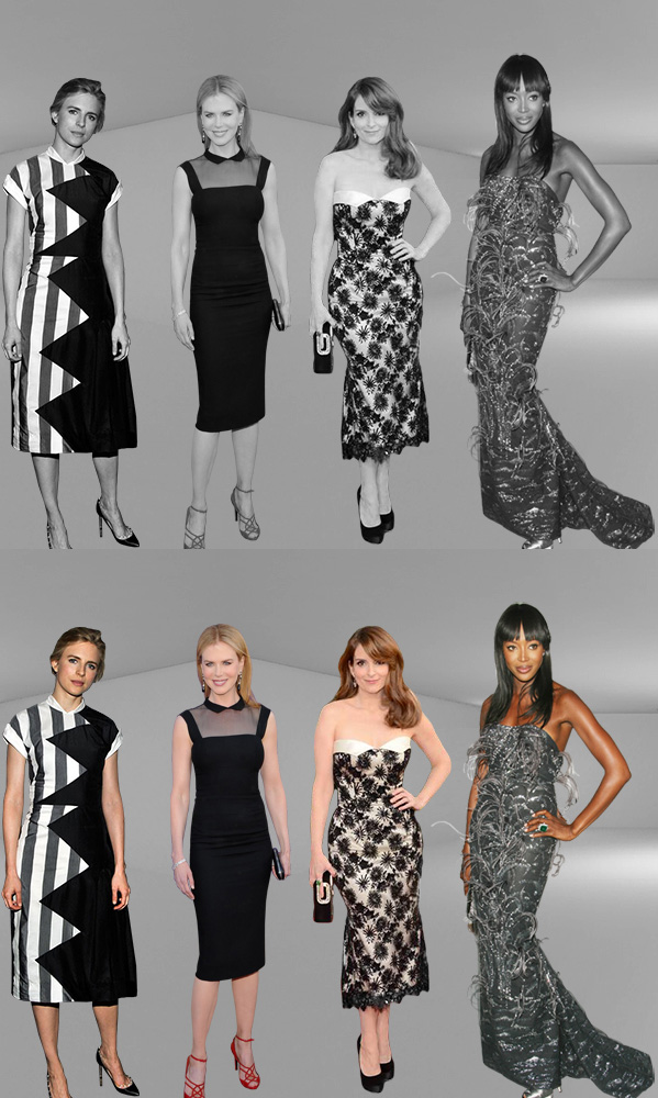 celebs wearing l'wren scott